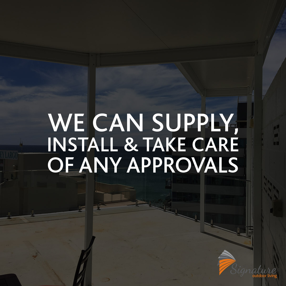 Supply and Installation of Patios and Carport Kits  Contact Signature Outdoor Living to find out more